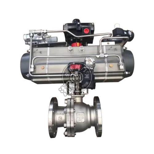ZSHO3型 气动O型三段式球阀