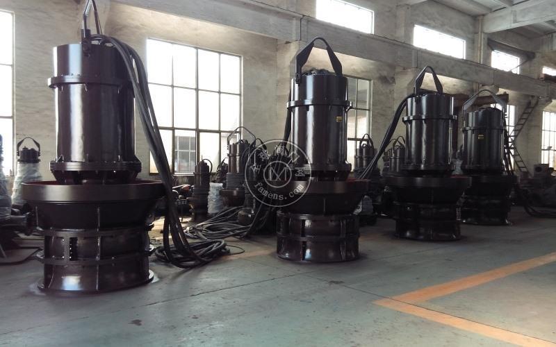潜水轴流泵_雪橇式、井筒式、浮筒式