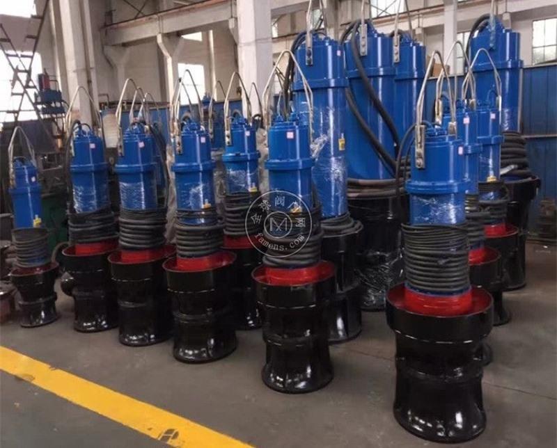 轴流泵,潜水轴流泵,井筒式潜水轴流泵