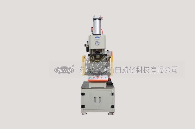 C型气液增压机_结构特点_出力大小可定制_森拓压机厂家直销