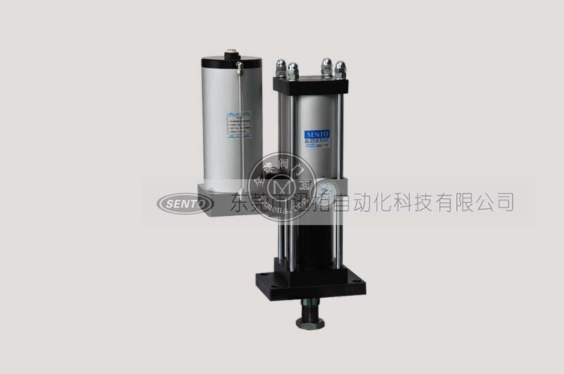 中间型气液增压缸型号参数_结构特点_森拓品牌厂家直销