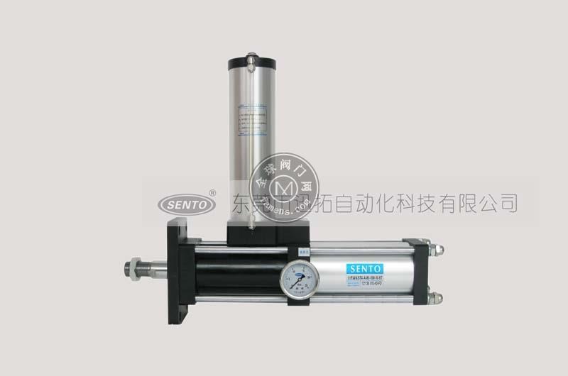 森拓增压缸厂家供应STA-A水平安装型气液增压缸|性能特点优良|应用领域广