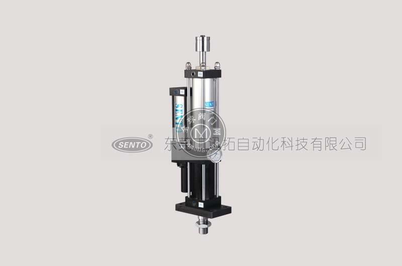 总行程可调气液增压缸型号参数_应用范围_森拓增压缸厂家