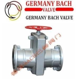 進口手動管夾閥:德國BACH巴赫