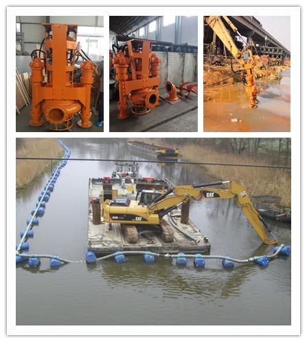 高铬合金挖机沙浆泵-矿厂挖机采沙泵