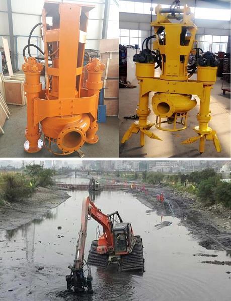 挖机抽沙泵300QSY1000-22