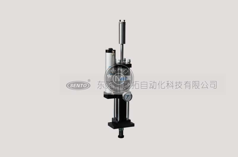 制造精良的可調增壓行程氣液增壓缸_森拓生產廠家直銷