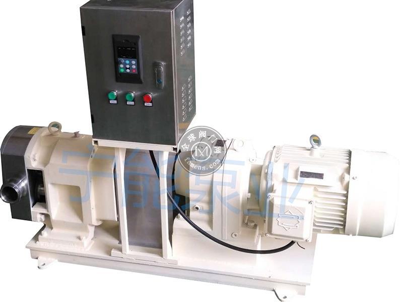 宁能变频控制式转子泵