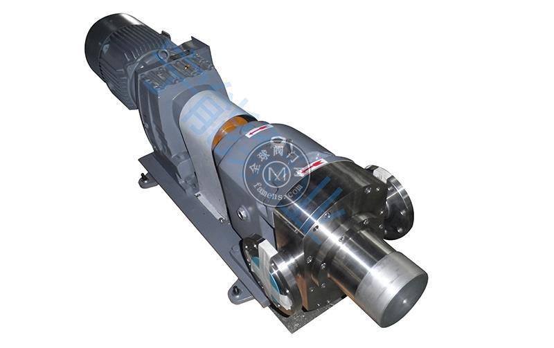 宁能卫生级安全阀转子泵