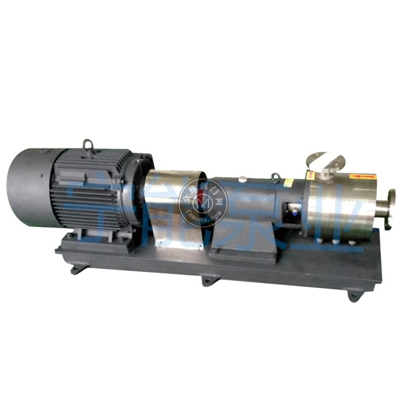 均质乳化泵-多级