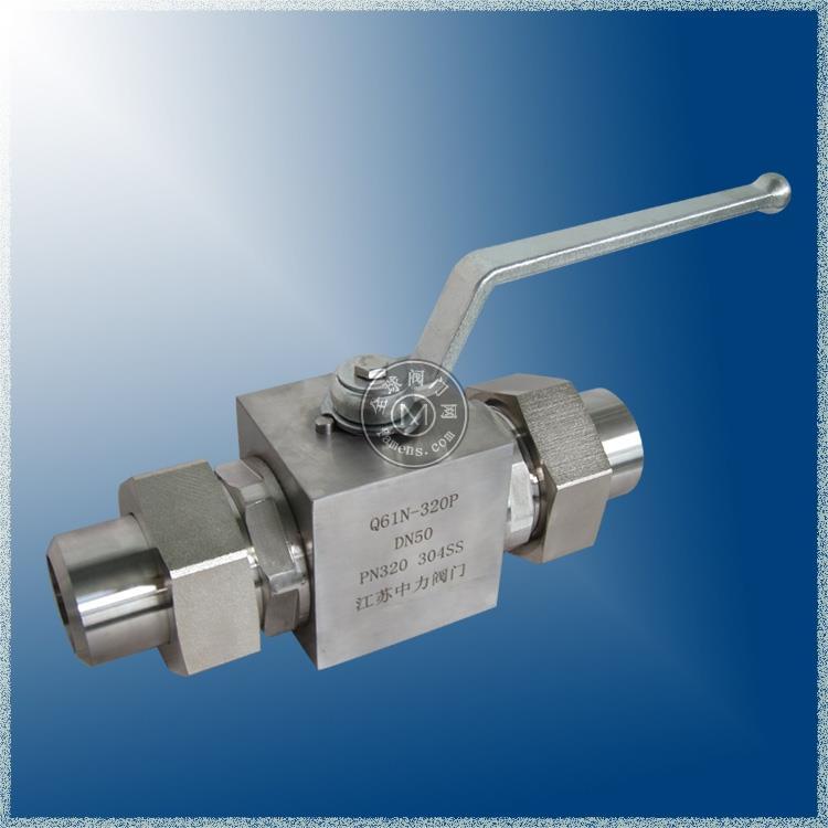 304SS 高温高压对焊球阀