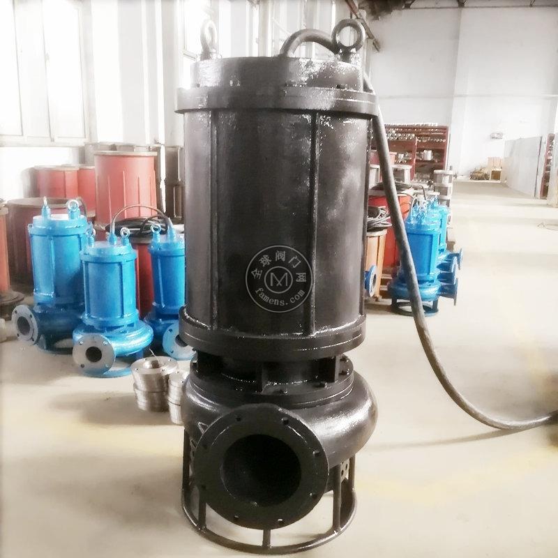 专业定制顶端出水桩基工程潜水泥沙泵 淄博瑞昱出品