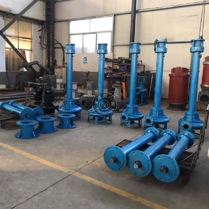 立式离心渣浆泵 杆长可定制 厂家直销 耐磨不堵塞