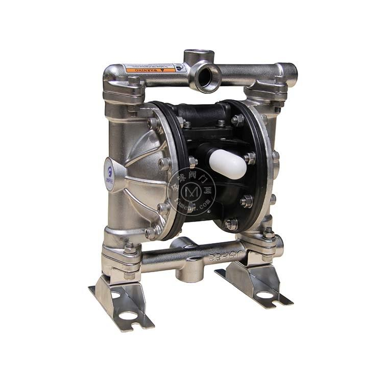 侠飞供应MK15不绣钢隔膜泵  金属气动隔膜泵 进口气动隔膜泵
