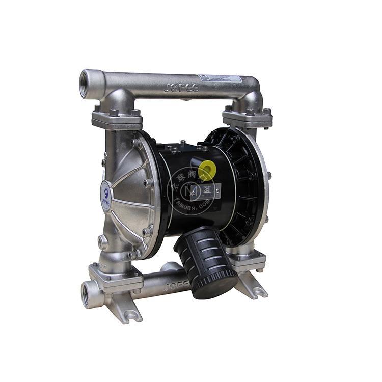 隔膜泵厂家供应MK25不绣钢耐酸碱气动隔膜泵