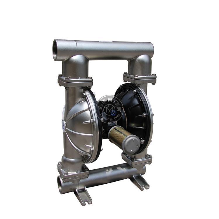 MK80(3寸)不锈钢304隔膜泵药剂输送泵油墨输送专用隔膜泵 大颗粒输送泵