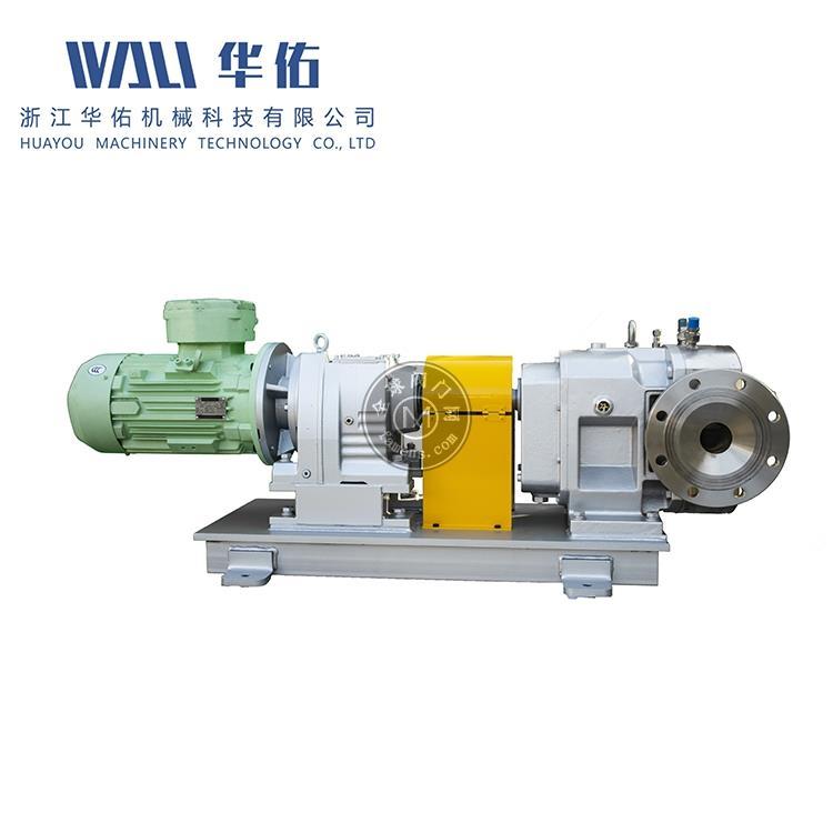 高精度橡膠轉子泵