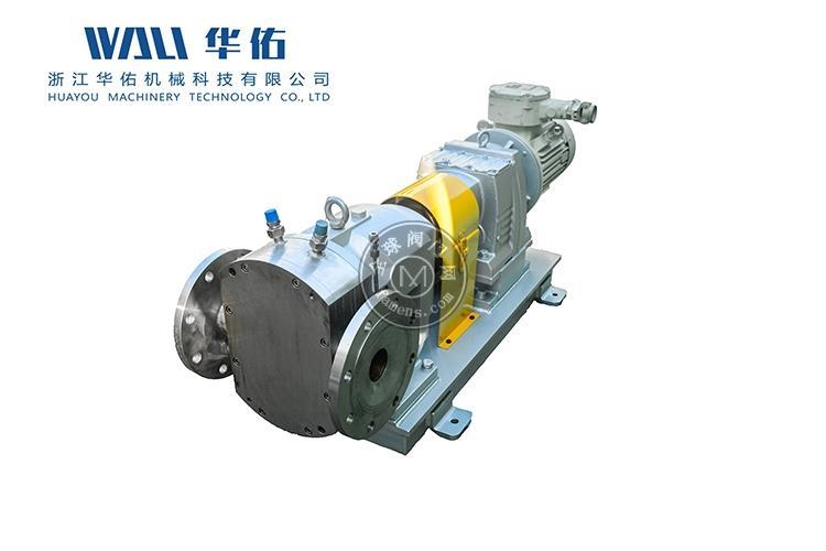高粘度凸轮转子泵