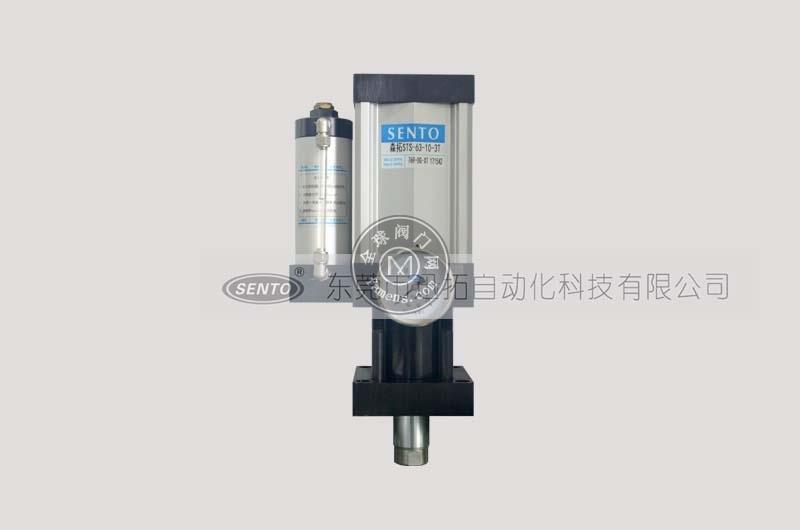 森拓氣液增壓缸廠家供應直壓式氣液增壓缸耗能小,出力大!