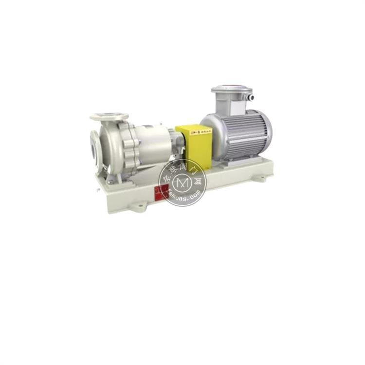 进口衬氟高温耐颗粒磁力泵