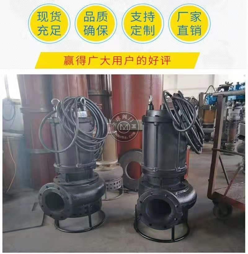 制砂廠渣漿泵 沉淀池抗磨潛水泥漿泵