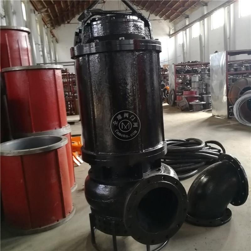 高耐磨合金潛水渣漿泵 高揚程潛水泥漿泵