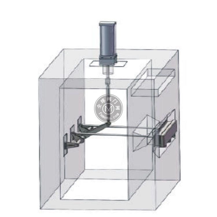 定制 水厂滤池气动翻板阀 速闭式闸门 水利闸门 渠道插板闸门 中高水利