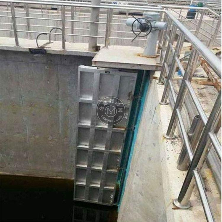 回流门 内回流门 HM型边轴旋转式回流控制门 中高水利 品质保证