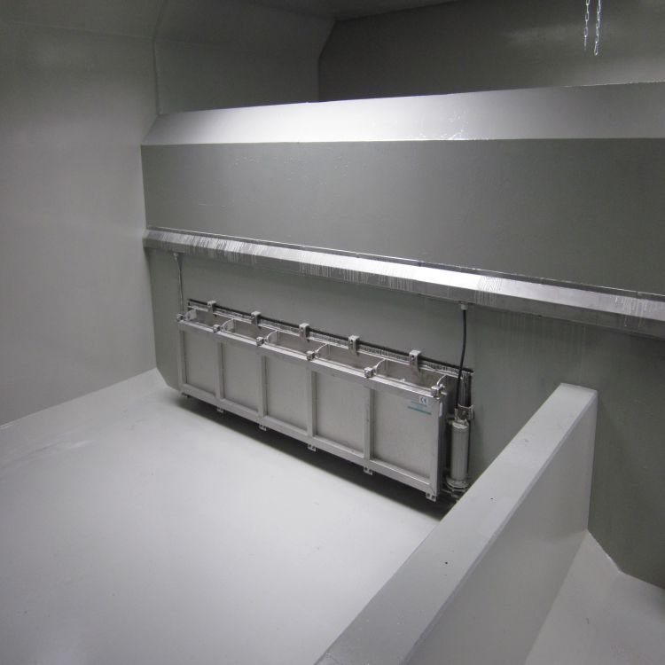 门式自动冲洗系统 水力冲洗门 门式水力冲洗设备 中高水利 实力商家 支持定制