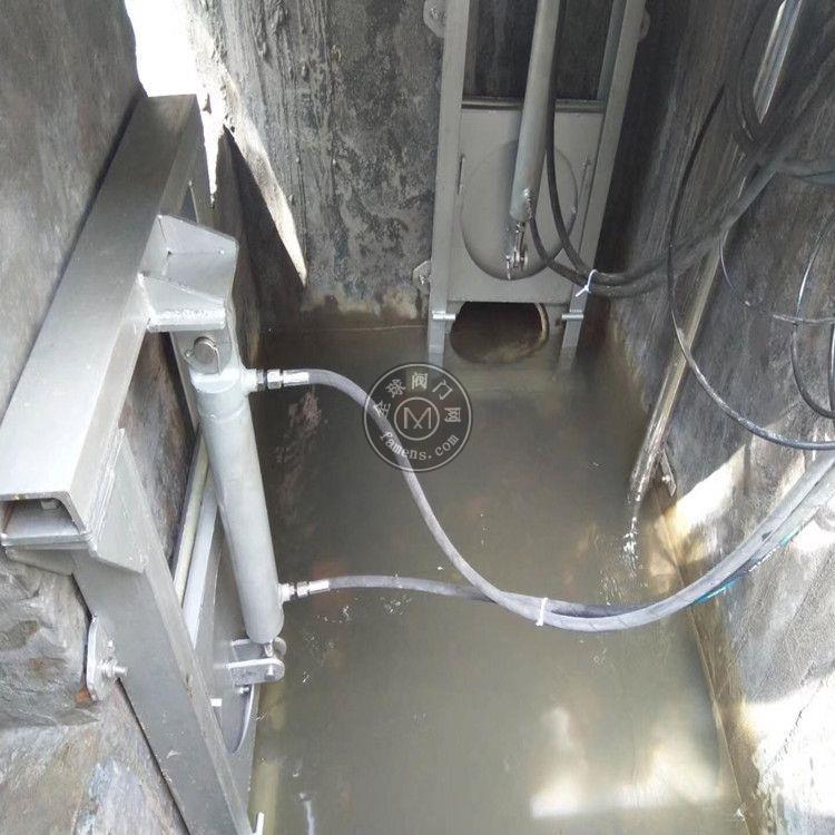 智能截流井液动限流闸门 污水不锈钢闸门 雨污分流限流闸门 中高水利 实力商家