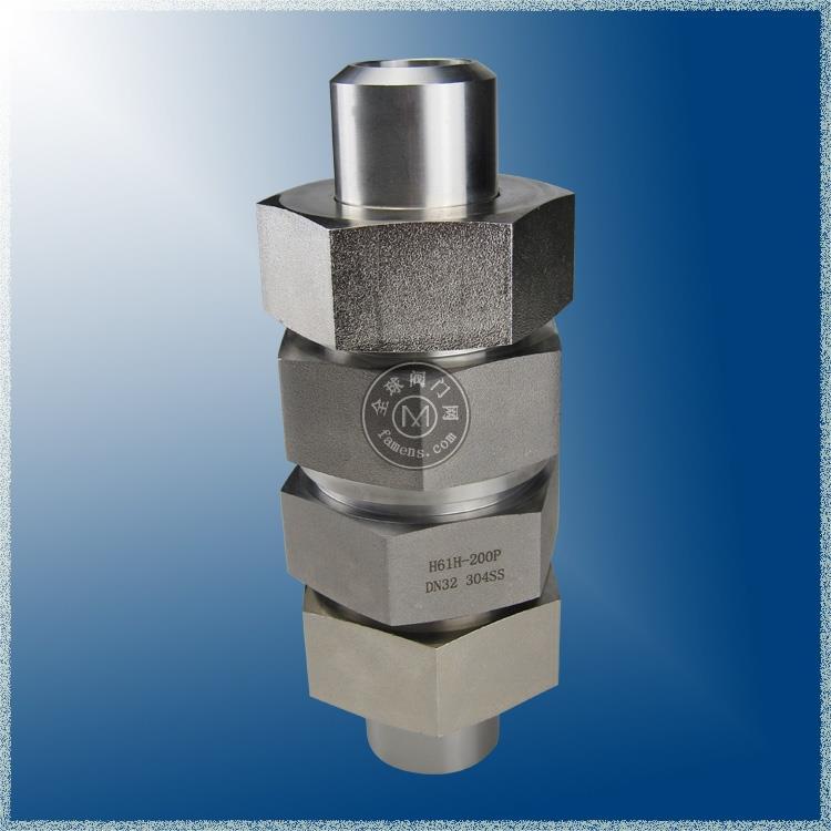 304不銹鋼焊接單向閥