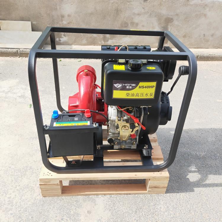 柴油高压动力抽水机