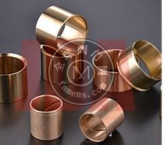 厂家专业生产黄铜套 锡青铜法兰铜套 江西金达铜业