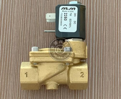 意大利m&m型號B205DBZ黃銅電磁閥