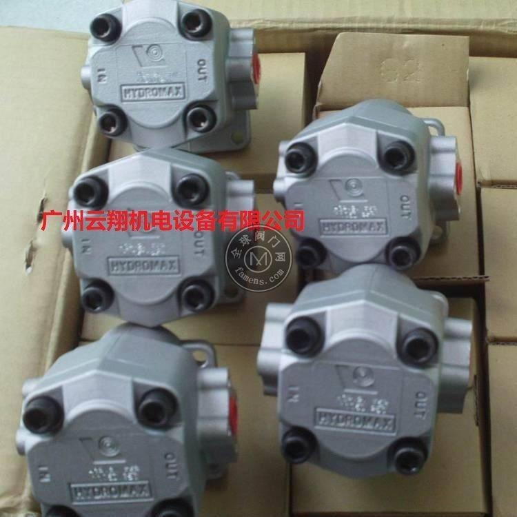 臺灣HYDROMAX齒輪泵HGP-3AF11R新鴻高壓油泵