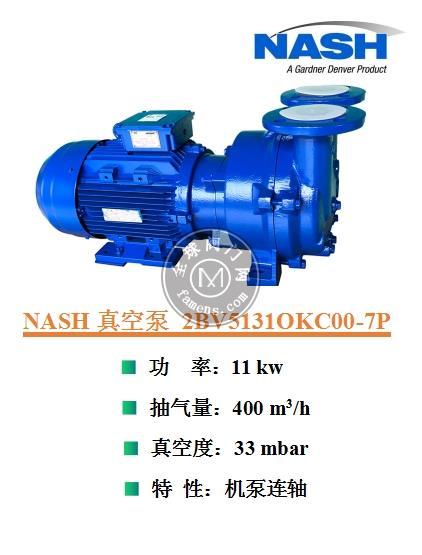 深圳德國佶締納士NASH水環真空泵售后維修