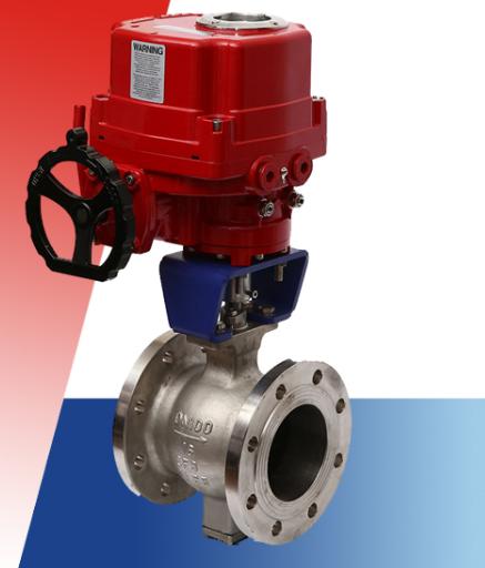 电动V型调节球阀VQ947F/H/Y