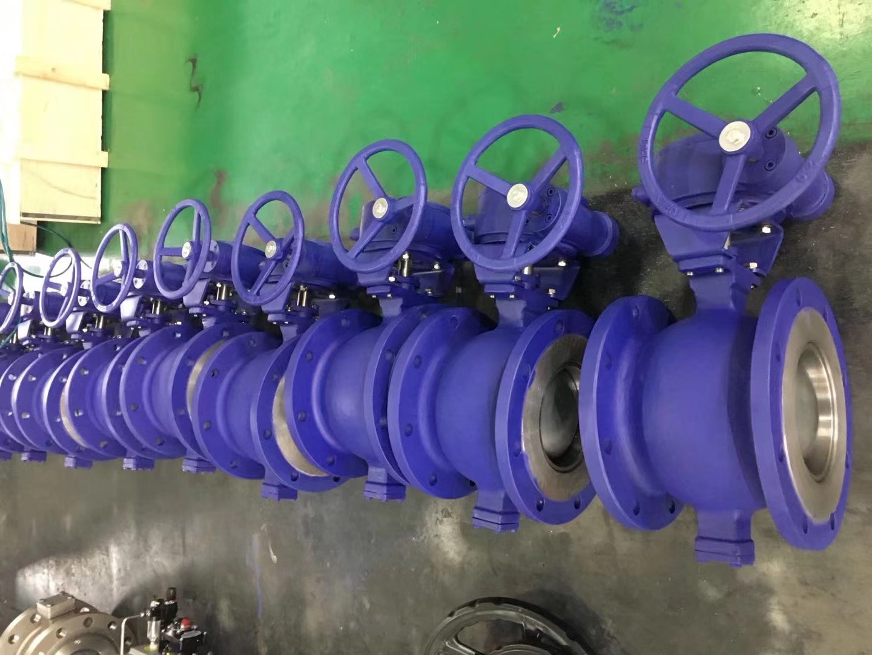 VQ347F/H/Y涡轮手动法兰V型开关球阀