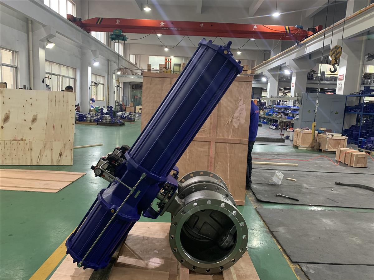 ZSHV氣動V型調節球閥 大口徑球閥
