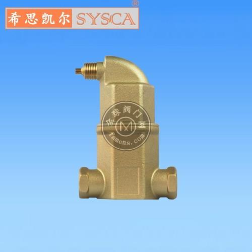 北京英瀚希思凱爾螺旋空氣分離器螺旋脫氣閥微氣泡分離器排氣閥