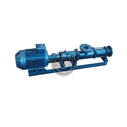 矾泉-G型单螺杆泵