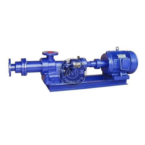 礬泉水泵-I-1B型螺桿式濃漿泵