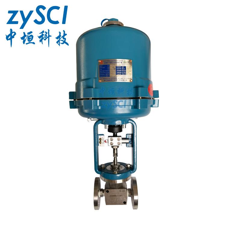ZAZPE高精度法蘭式電動微小流量調節閥