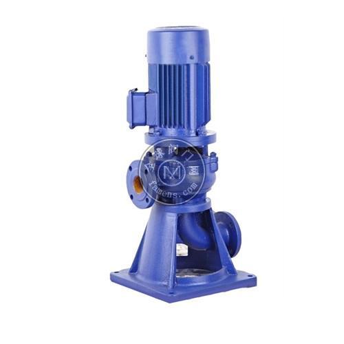 礬泉水泵-LW型直立式無堵塞排污泵
