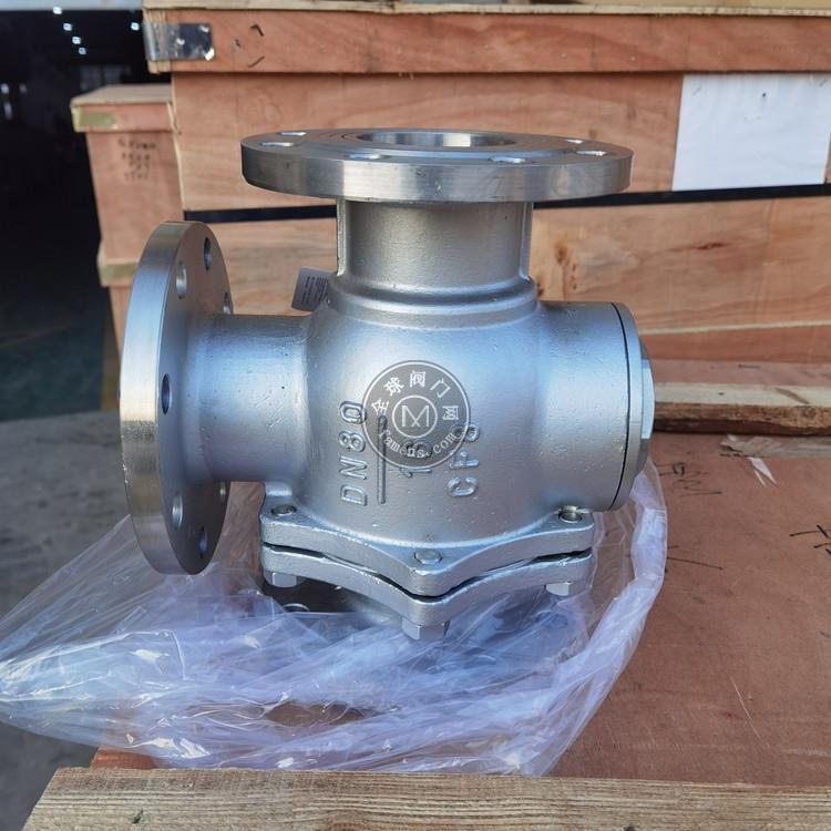 Q44F Q45F碳鋼三法蘭通球閥