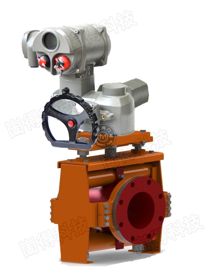 GDGJ礦漿耐磨管夾閥