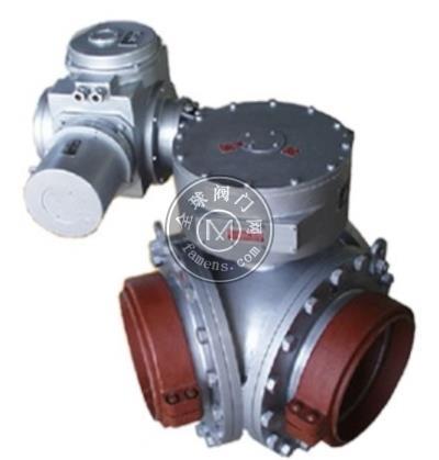 GDGNM高壓耐磨礦漿三通換向閥