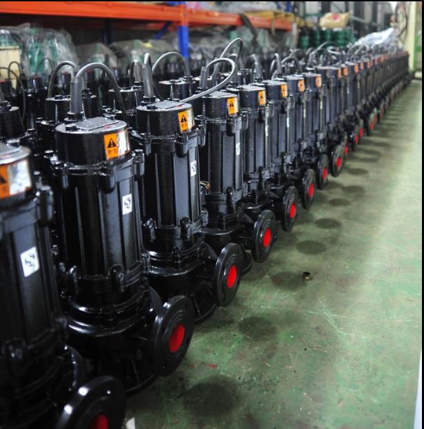 福建廠家WQ大流量高揚程自攪勻切割型潛污泵 排污泵