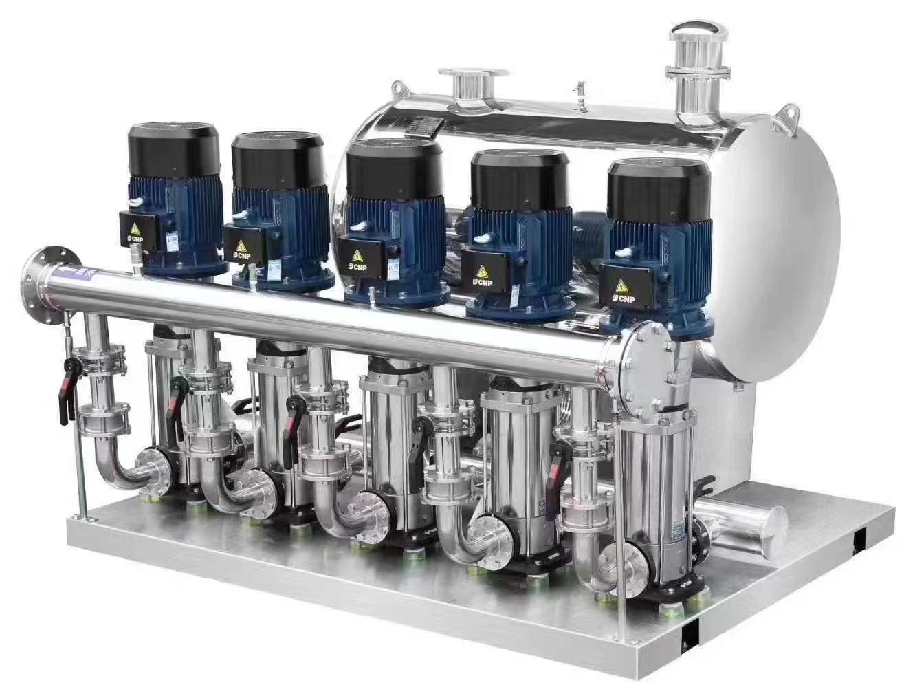 變頻恒壓供水機組的優點