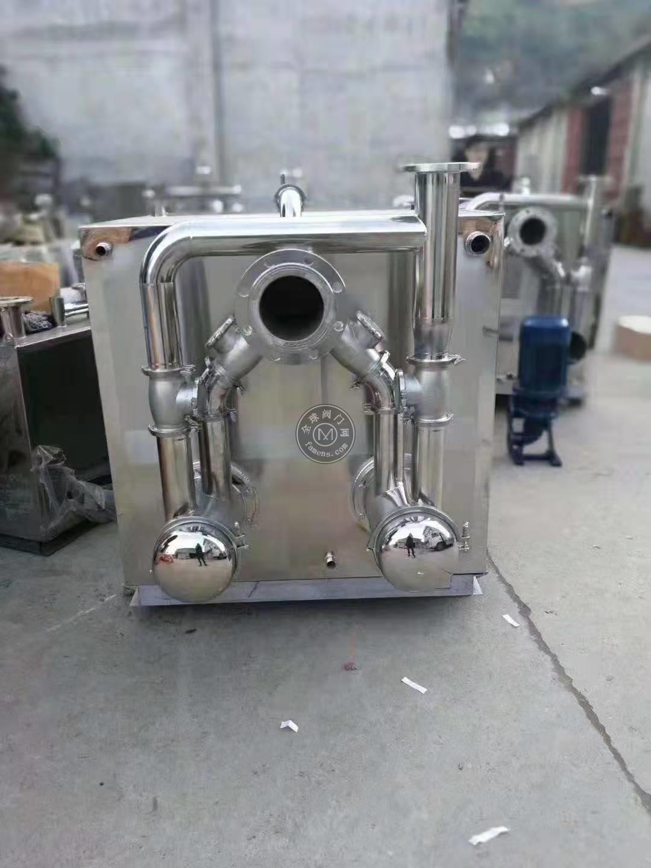 廈門商場餐飲油水分離提升一體化設備隔油器